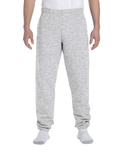 Ash 9.5 oz., 50/50 Super Sweats® NuBlend® Fleece Pocketed Sweatpants