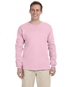 Classic Pink 5 oz., 100% Heavy Cotton HD® Long-Sleeve T-Shirt
