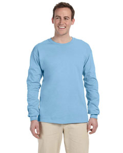 Light Blue 5 oz., 100% Heavy Cotton HD® Long-Sleeve T-Shirt