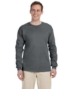 Charcoal Grey 5 oz., 100% Heavy Cotton HD® Long-Sleeve T-Shirt