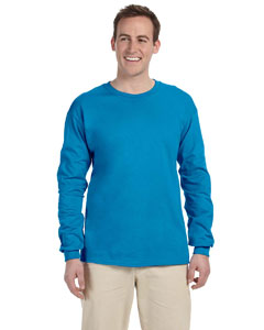 Pacific Blue 5 oz., 100% Heavy Cotton HD® Long-Sleeve T-Shirt