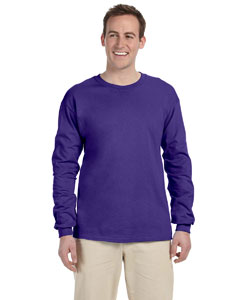 Purple 5 oz., 100% Heavy Cotton HD® Long-Sleeve T-Shirt