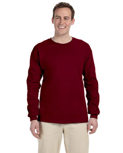 Maroon 5 oz., 100% Heavy Cotton HD® Long-Sleeve T-Shirt