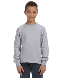 Athletic Heather Youth 5 oz., 100% Heavy Cotton HD® Long-Sleeve T-Shirt