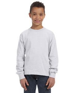 Ash Youth 5 oz., 100% Heavy Cotton HD® Long-Sleeve T-Shirt
