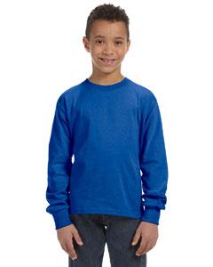 Royal Youth 5 oz., 100% Heavy Cotton HD® Long-Sleeve T-Shirt