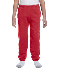 True Red Youth 9.5 oz., 50/50 Super Sweats® NuBlend® Fleece Pocketed Sweatpants