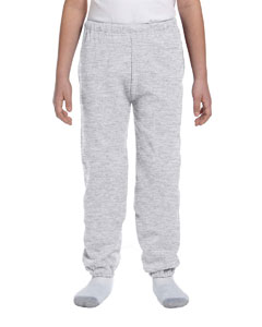 Ash Youth 9.5 oz., 50/50 Super Sweats® NuBlend® Fleece Pocketed Sweatpants