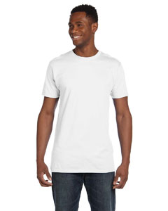 White 4.5 oz., 100% Ringspun Cotton nano®-T T-Shirt