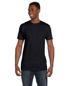 Black 4.5 oz., 100% Ringspun Cotton nano®-T T-Shirt