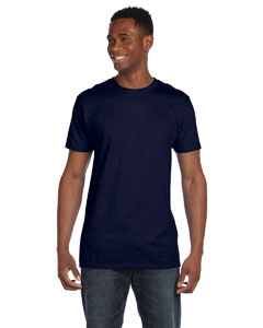 Navy 4.5 oz., 100% Ringspun Cotton nano®-T T-Shirt