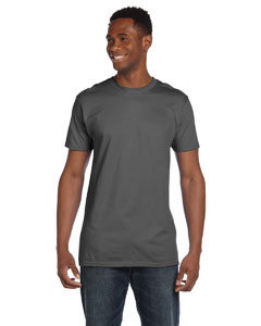Smoke Gray 4.5 oz., 100% Ringspun Cotton nano®-T T-Shirt