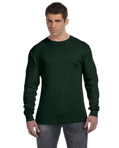 Deep Forest 4.5 oz., 100% Ringspun Cotton nano-T® Long-Sleeve T-Shirt