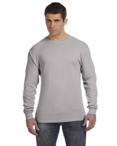 Light Steel 4.5 oz., 100% Ringspun Cotton nano-T® Long-Sleeve T-Shirt