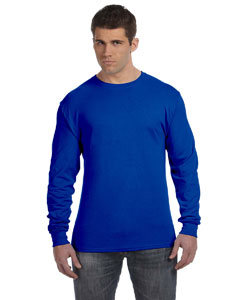 Deep Royal 4.5 oz., 100% Ringspun Cotton nano-T® Long-Sleeve T-Shirt
