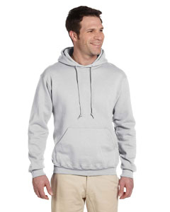 Ash 9.5 oz., 50/50 Super Sweats® NuBlend® Fleece Pullover Hood