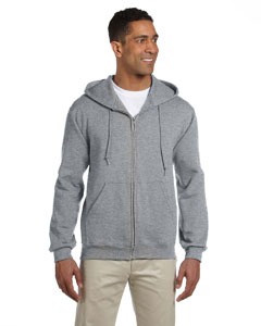 Oxford 9.5 oz., 50/50 Super Sweats® NuBlend® Fleece Full-Zip Hood