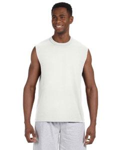 White 5 oz. HiDENSI-T® Sleeveless T-Shirt