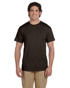 Dark Chocolate 5.2 oz., 50/50 ComfortBlend® EcoSmart® T-Shirt