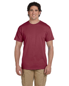 Heather Red 5.2 oz., 50/50 ComfortBlend® EcoSmart® T-Shirt