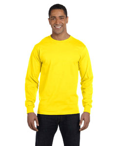 Yellow 6.1 oz. Long-Sleeve Beefy-T®