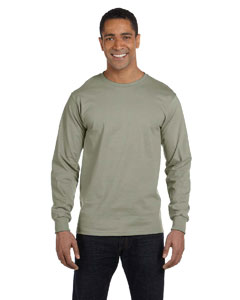 Stonewash Green 6.1 oz. Long-Sleeve Beefy-T®