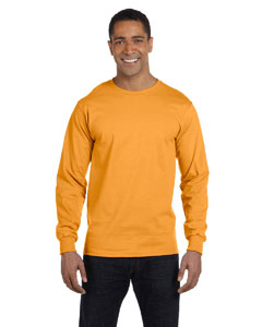 Gold 6.1 oz. Long-Sleeve Beefy-T®
