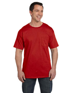 Deep Red 6.1 oz. Beefy-T® with Pocket