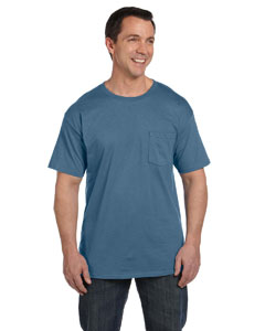 Denim Blue 6.1 oz. Beefy-T® with Pocket