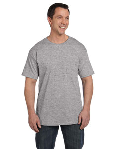 Light Steel 6.1 oz. Beefy-T® with Pocket