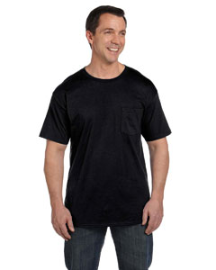 Black 6.1 oz. Beefy-T® with Pocket