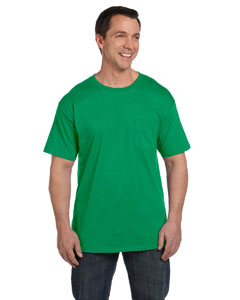 Kelly Green 6.1 oz. Beefy-T® with Pocket