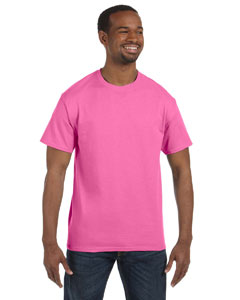 Pink 6.1 oz. Tagless® T-Shirt