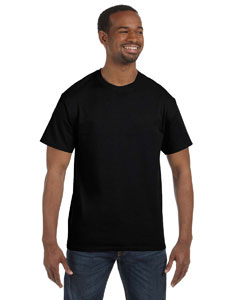 Black 6.1 oz. Tagless® T-Shirt
