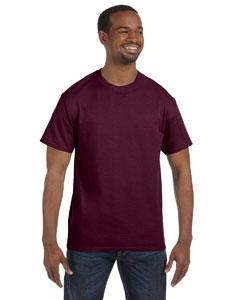 Maroon 6.1 oz. Tagless® T-Shirt