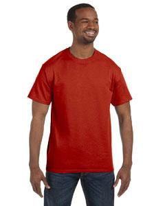 Deep Red 6.1 oz. Tagless® T-Shirt