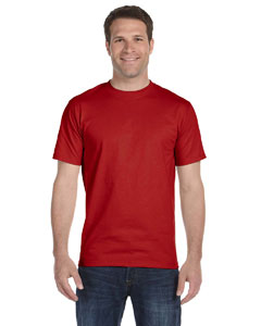 Deep Red 5.2 oz. ComfortSoft® Cotton T-Shirt