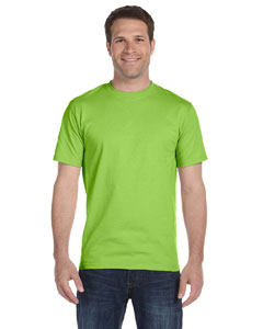 Lime 5.2 oz. ComfortSoft® Cotton T-Shirt