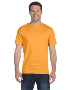 Gold 5.2 oz. ComfortSoft® Cotton T-Shirt