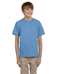 Carolina Blue Youth 5.2 oz., 50/50 ComfortBlend® EcoSmart® T-Shirt