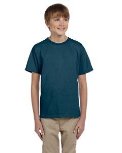 Denim Blue Youth 5.2 oz., 50/50 ComfortBlend® EcoSmart® T-Shirt