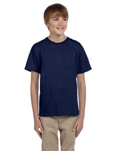 Navy Youth 5.2 oz., 50/50 ComfortBlend® EcoSmart® T-Shirt