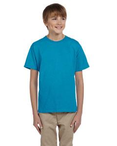 Teal Youth 5.2 oz., 50/50 ComfortBlend® EcoSmart® T-Shirt
