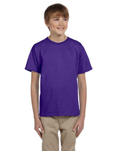 Purple Youth 5.2 oz., 50/50 ComfortBlend® EcoSmart® T-Shirt