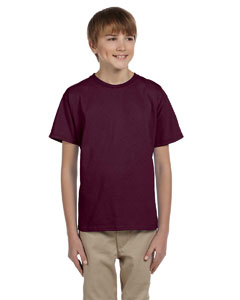 Maroon Youth 5.2 oz., 50/50 ComfortBlend® EcoSmart® T-Shirt