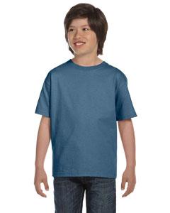 Denim Blue Youth 6.1 oz. Beefy-T®