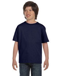 Navy Youth 6.1 oz. Beefy-T®
