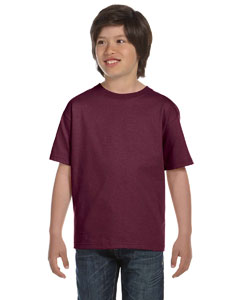 Maroon Youth 6.1 oz. Beefy-T®