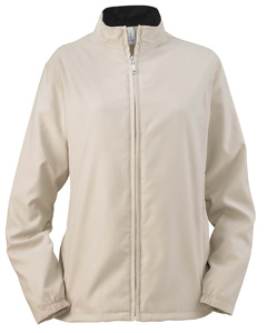 Stone Women's Full-Zip Lined Wind Jacket