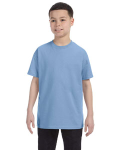 Light Blue Youth 6.1 oz. Tagless® T-Shirt